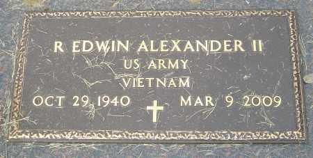 ALEXANDER, R EDWIN - Montgomery County, Ohio | R EDWIN ALEXANDER - Ohio Gravestone Photos