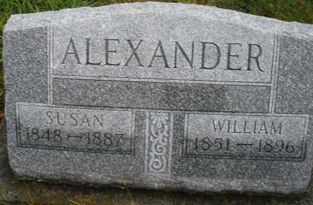 ALEXANDER, WILLIAM - Montgomery County, Ohio | WILLIAM ALEXANDER - Ohio Gravestone Photos