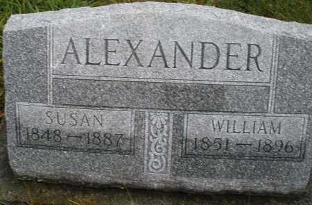 ALEXANDER, SUSAN - Montgomery County, Ohio | SUSAN ALEXANDER - Ohio Gravestone Photos