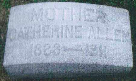 TREON ALLEN, CATHERINE - Montgomery County, Ohio | CATHERINE TREON ALLEN - Ohio Gravestone Photos