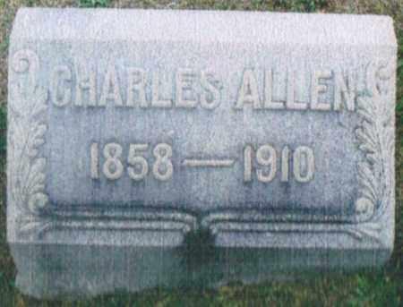 ALLEN, CHARLES - Montgomery County, Ohio | CHARLES ALLEN - Ohio Gravestone Photos