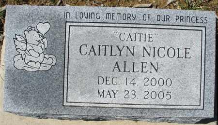 ALLEN, CAITLYN NICOLE - Montgomery County, Ohio | CAITLYN NICOLE ALLEN - Ohio Gravestone Photos