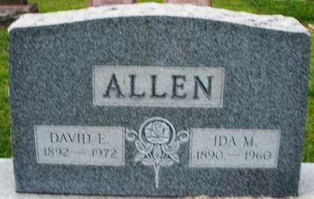 ALLEN, DAVID E. - Montgomery County, Ohio | DAVID E. ALLEN - Ohio Gravestone Photos