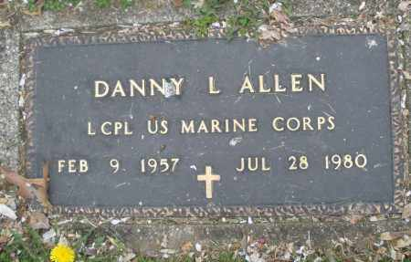 ALLEN, DANNY L. - Montgomery County, Ohio | DANNY L. ALLEN - Ohio Gravestone Photos