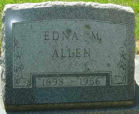 ALLEN, EDNA M - Montgomery County, Ohio | EDNA M ALLEN - Ohio Gravestone Photos