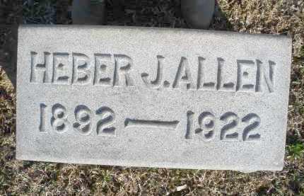 ALLEN, HEBER J. - Montgomery County, Ohio | HEBER J. ALLEN - Ohio Gravestone Photos