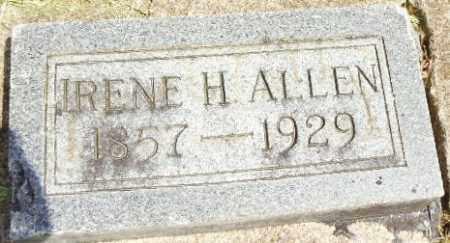 ALLEN, IRENE - Montgomery County, Ohio | IRENE ALLEN - Ohio Gravestone Photos
