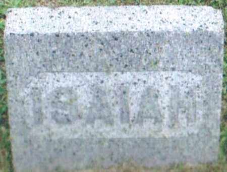 ALLEN, ISAIAH - Montgomery County, Ohio | ISAIAH ALLEN - Ohio Gravestone Photos