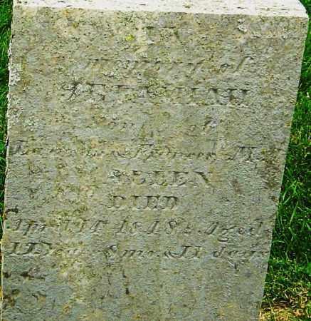 ALLEN, JEREMIAH - Montgomery County, Ohio | JEREMIAH ALLEN - Ohio Gravestone Photos