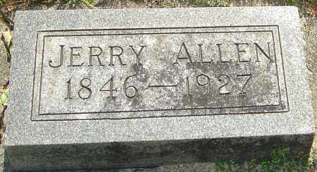 ALLEN, JERRY - Montgomery County, Ohio | JERRY ALLEN - Ohio Gravestone Photos