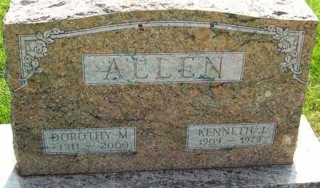 ALLEN, KENNETH - Montgomery County, Ohio | KENNETH ALLEN - Ohio Gravestone Photos
