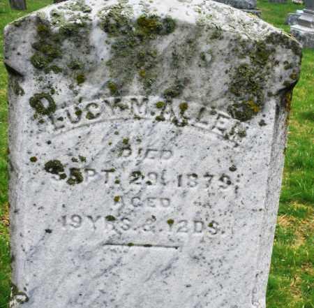ALLEN, LUCY M. - Montgomery County, Ohio | LUCY M. ALLEN - Ohio Gravestone Photos