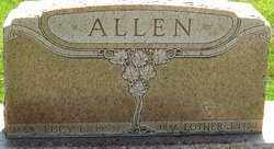 ALLEN, LOTHER - Montgomery County, Ohio | LOTHER ALLEN - Ohio Gravestone Photos