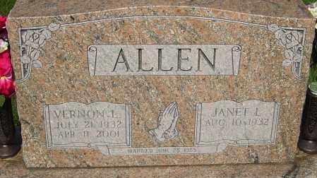 ALLEN, VERNON - Montgomery County, Ohio | VERNON ALLEN - Ohio Gravestone Photos