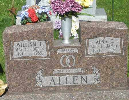 ALLEN, ALNA C. - Montgomery County, Ohio | ALNA C. ALLEN - Ohio Gravestone Photos