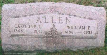 ALLEN, WILLIAM FRANCIS - Montgomery County, Ohio | WILLIAM FRANCIS ALLEN - Ohio Gravestone Photos