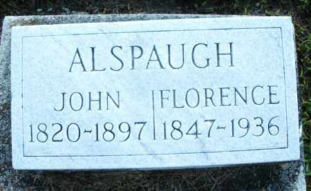 ALSPAUGH, JOHN - Montgomery County, Ohio | JOHN ALSPAUGH - Ohio Gravestone Photos
