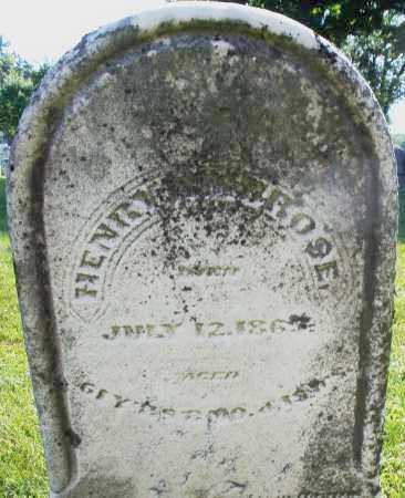 AMBROSE, HENRY - Montgomery County, Ohio | HENRY AMBROSE - Ohio Gravestone Photos