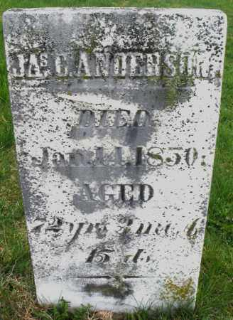 ANDERSON, JAMES C. - Montgomery County, Ohio | JAMES C. ANDERSON - Ohio Gravestone Photos