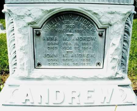 ANDREW, ANNA M. - Montgomery County, Ohio | ANNA M. ANDREW - Ohio Gravestone Photos