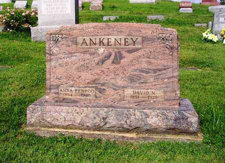 ANKENEY, DAVID N - Montgomery County, Ohio | DAVID N ANKENEY - Ohio Gravestone Photos