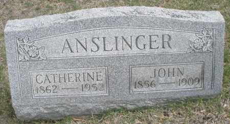 ANSLINGER, CATHERINE - Montgomery County, Ohio | CATHERINE ANSLINGER - Ohio Gravestone Photos