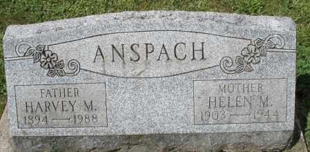 ANSPACH, HELEN M. - Montgomery County, Ohio | HELEN M. ANSPACH - Ohio Gravestone Photos
