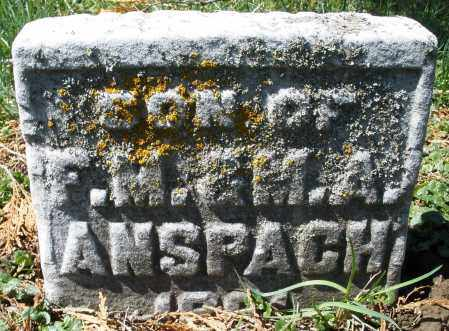 ANSPACH, INFANT - Montgomery County, Ohio | INFANT ANSPACH - Ohio Gravestone Photos