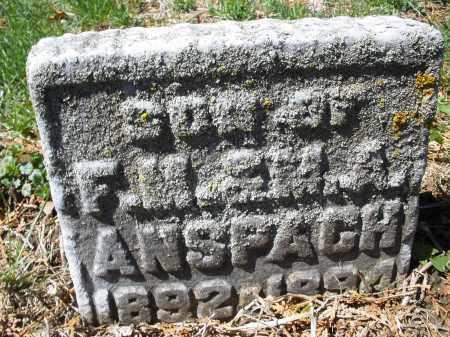 ANSPACH, WILLIAM E. - Montgomery County, Ohio | WILLIAM E. ANSPACH - Ohio Gravestone Photos
