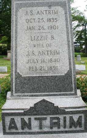 ANTRIM, LIZZIE B. - Montgomery County, Ohio | LIZZIE B. ANTRIM - Ohio Gravestone Photos