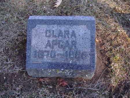 APGAR, CLARA - Montgomery County, Ohio | CLARA APGAR - Ohio Gravestone Photos