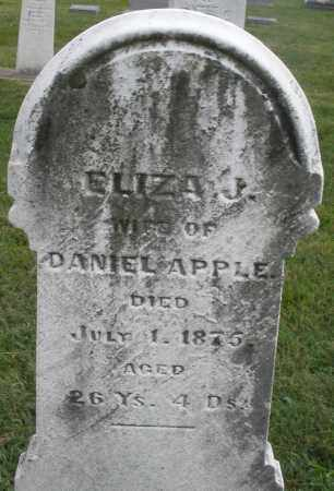APPLE, ELIZABETH J. - Montgomery County, Ohio | ELIZABETH J. APPLE - Ohio Gravestone Photos