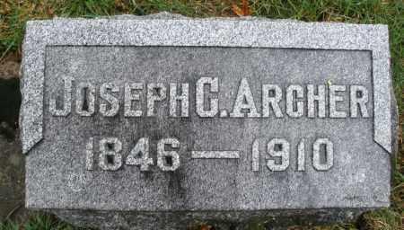 ARCHER, JOSEPH G. - Montgomery County, Ohio | JOSEPH G. ARCHER - Ohio Gravestone Photos