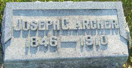 ARCHER, JOSEPH - Montgomery County, Ohio | JOSEPH ARCHER - Ohio Gravestone Photos