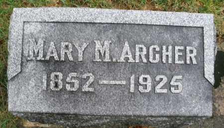 ARCHER, MARY M. - Montgomery County, Ohio | MARY M. ARCHER - Ohio Gravestone Photos