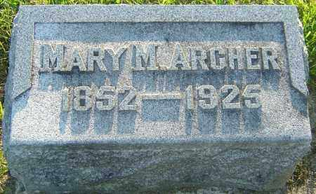 ARCHER, MARY - Montgomery County, Ohio | MARY ARCHER - Ohio Gravestone Photos