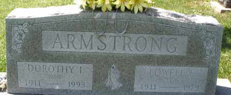 ARMSTRONG, LOWELL F. - Montgomery County, Ohio | LOWELL F. ARMSTRONG - Ohio Gravestone Photos