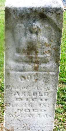 ARNOLD, CHILD - Montgomery County, Ohio | CHILD ARNOLD - Ohio Gravestone Photos