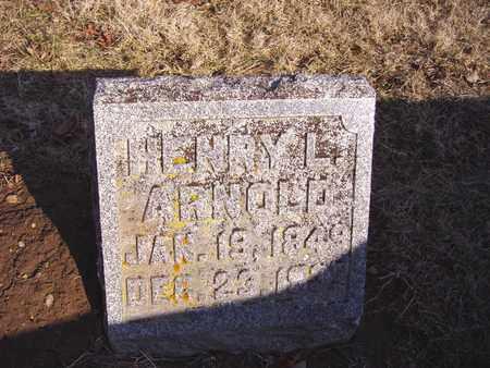 ARNOLD, HENRY L. - Montgomery County, Ohio | HENRY L. ARNOLD - Ohio Gravestone Photos