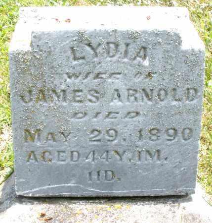 ARNOLD, LYDIA - Montgomery County, Ohio | LYDIA ARNOLD - Ohio Gravestone Photos