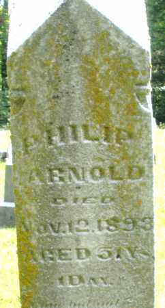 ARNOLD, PHILIP - Montgomery County, Ohio | PHILIP ARNOLD - Ohio Gravestone Photos