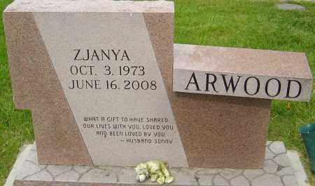 ARWOOD, ZJANYA - Montgomery County, Ohio | ZJANYA ARWOOD - Ohio Gravestone Photos
