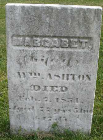 ASHTON, MARGARET - Montgomery County, Ohio | MARGARET ASHTON - Ohio Gravestone Photos