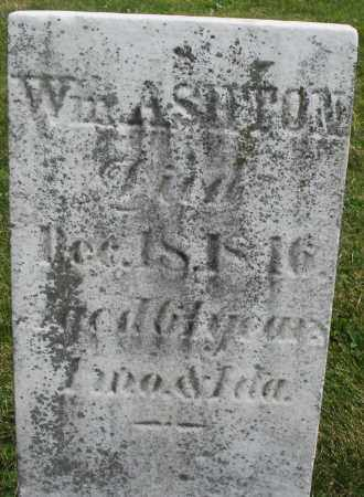 ASHTON, WILLIAM - Montgomery County, Ohio | WILLIAM ASHTON - Ohio Gravestone Photos