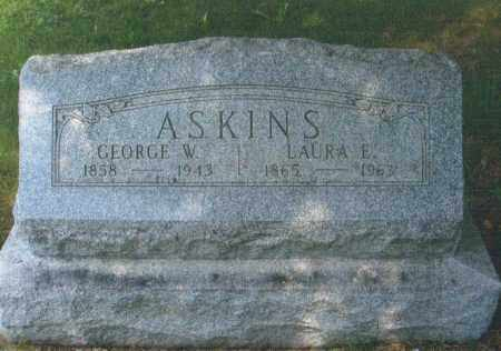BECKER ASKINS, LAURA E. - Montgomery County, Ohio | LAURA E. BECKER ASKINS - Ohio Gravestone Photos