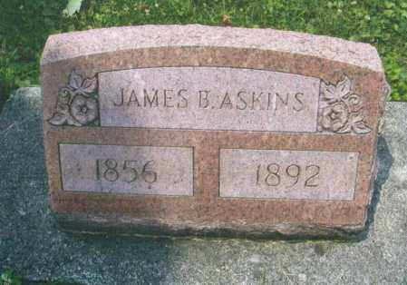 ASKINS, JAMES B. - Montgomery County, Ohio | JAMES B. ASKINS - Ohio Gravestone Photos