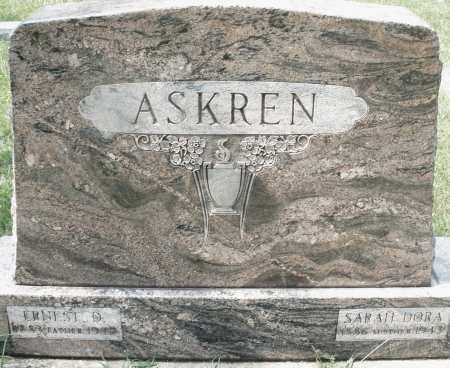 ASKREN, ERNEST D. - Montgomery County, Ohio | ERNEST D. ASKREN - Ohio Gravestone Photos