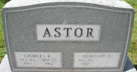 ASTOR, CHARLES R. - Montgomery County, Ohio | CHARLES R. ASTOR - Ohio Gravestone Photos