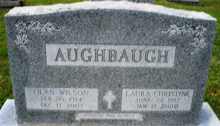 AUGHBAUGH, OLAN WILSON - Montgomery County, Ohio | OLAN WILSON AUGHBAUGH - Ohio Gravestone Photos