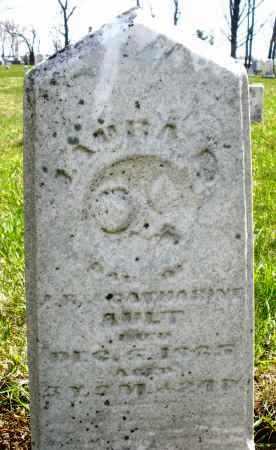 AULT, LAURA - Montgomery County, Ohio | LAURA AULT - Ohio Gravestone Photos